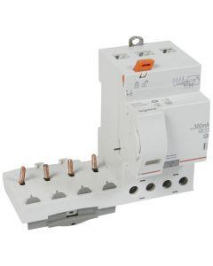Diff. blok DX³ 4P 300mA 63A Type AC-S - 3 modules