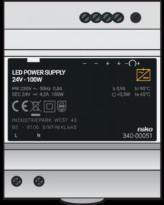 VOEDING 24VDC-120W DIN