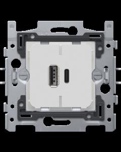 DUAL USB-A/C LADER KLAUW