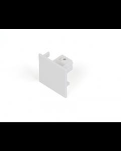 Eindkap Wit voor Teco 3P-Track