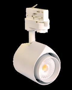 Teco LED 3P-Tracklight PERLA 15W 3000K 38° wit
