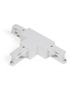 T-Connector links-rechts Wit voor Teco 3P-Track