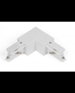 L-Connector naar rechts Wit voor Teco 3P-Track