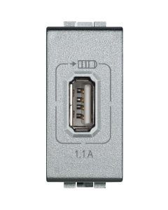LL USB-lader 1.1A 1 module Tech