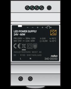VOEDING 24VDC-60W DIN
