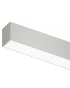 Vierkante rozet 60x60x40 vr TECO LED-Pendelprof KAMELEON Wit
